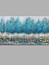 Peint a la main Abstrait Horizontale,Moderne Un Panneau Toile Peinture a l\'huile Hang-peint For Decoration d\'interieur