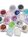 17box Manucure De oration strass Perles Maquillage cosmetique Nail Art Design