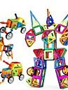 Lego Jucării Educaționale Blocuri magnetice pentru cadouri Building Blocks Jocuri & Puzzle Circular Pătrat Sferă Τρίγωνο Policarbonat2 la