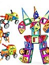 Blocs de Construction Jouet Educatif blocs magnetiques Pour cadeau Blocs de Construction Jeux & Casse-teteCirculaire Carre Sphere