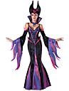 Costumes de Cosplay Sorcier/Sorciere Fete / Celebration Deguisement d\'Halloween Autres Robe Gants Collier Chapeau Halloween Feminin