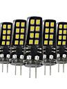 3W G4 Becuri LED Bi-pin 16 SMD 2835 200-300 lm Alb Cald Alb Natural Alb Decorativ V 5 bc