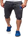Bărbați Larg Drept Simplu Șic Stradă Activ Talie Medie,Elastic Pantaloni Sport Pantaloni Scurți Pantaloni Solid Scrisă