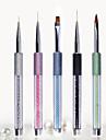 1pc nail art broyer arenace un crayon craquelures rester stylo de peinture stylo phototherapie 5 paragraphe facultatif