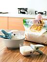 1 piese Spoon Tong For Pentru ustensile de gătit Plastic Calitate superioară Bucătărie Gadget creativ