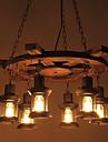 Lumini pandantiv ,  Tradițional/Clasic Retro Țara Vopsire Caracteristică for Stil Minimalist Lemn / bambusSufragerie Intrare Cameră de