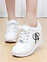 Femme Chaussures Polyurethane Printemps A Bride Arriere Ballerines Gros Talon Pour Decontracte Blanc