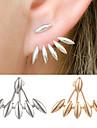 Pentru femei Cercei Stud Bijuterii Design Unic costum de bijuterii Aliaj Square Shape Bijuterii Pentru Nuntă Petrecere Ocazie specială Zi
