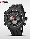 WEIDE Bărbați Ceas Sport Ceas La Modă Ceas de Mână Ceas digital Quartz Piloane de Menținut CarneaCalendar Rezistent la Apă Zone Duale de