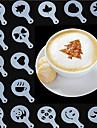16 Piese coacere Mold Rotund Utilizare Zilnică Multifuncțional pentru lichide EPPziua îndragostiților Halloween Nelipicios Calitate