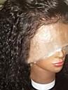 Femme Perruque Naturelles Dentelle Bresiliens Cheveux humains Lace Front Sans Colle Lace Front 130% Densite Avec Meches Avant Frises