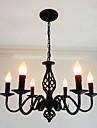 Candelabre ,  Artistic Șic & Modern Altele Caracteristică for Stil lumânare Metal Sufragerie La Interior 6 Becuri