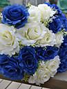 1 Gren Plast Roser Bordsblomma Konstgjorda blommor