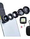 Apexel de lux universal 5 in 1 kit pentru lentile pentru iphone 7 6 / 6s 6plus / 6s plus samsung galaxie s7 / s7 margini6 / s6 margine
