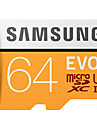 Samsung 64gb carte micro sd carte memoire tf 100mb / s uhs-3 class10