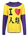 Inspire par No Game No Life Cosplay Manga Costumes de Cosplay Cosplay a Capuche Imprime Manches Longues Tee-shirt Pour Masculin
