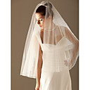 Vjenčani velovi Two-tier Elbow Burke / Veils for Short Hair Ojačani rub 11.81 u (30cm) Til Bijela / Slonovača / ŠampanjacRetka, Ball
