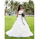LAN TING BRIDE Plesové šaty Svatební šaty - Klasické & nadčasové Elegantní & moderní Elegantní & luxusní Okouzlující & dramatickéBarevné