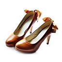 umjetne kože gornje Stiletto peta Bowknot pumpe vjenčanje / party cipele više boja