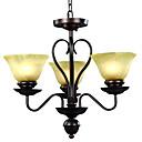 3-svjetlo staklo luster