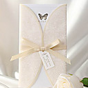 Non-personalizaton Zamotajte & Pocket Vjenčanje Pozivnice Pozivnice-50 Piece / Set Vintage Style / Classic Style / Butterly StyleKartica