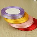 Pevná barva Satén Svatební stuhy Piece / Set Saténová stuha