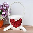květinové koše s rose srdcem květin koše