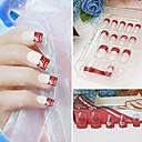 super cool glänzende falsche Acryl Nail Art Tips