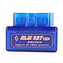super mini elm327 Bluetooth v1.5 obd2 auto dijagnostički alat za sučelje - plava
