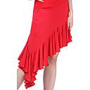 dancewear poliesterska latin plesna suknju za dame još mnogo toga bojama