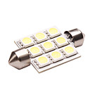 Double Peak LED Car Light (1.5W, Lumen(LM) 110, Color Temperature 6000K, 12V, with 1 LEDs, White Light)