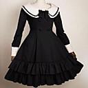 dugi rukav koljeno duljine haljinu pamuk škola lolita