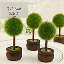 Topiary Photo Holder/Place Card Holder (Set of 4)