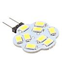 4W G4 LED svjetla s dvije iglice 9 SMD 5630 430 lm Prirodno bijelo DC 12 V
