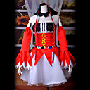 Inspirirana Vocaloid Hagane Miku Video igra Cosplay Kostimi Cosplay Suits Kolaž Crvena Top