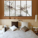 Modern Scenic Wall Clock in Canvas 5pcs K0106