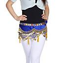 velluto dancewear con le monete / bordatura spettacolo di danza del ventre cintura per le signore colori più