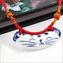 Berba mačka keramike ogrlicu