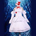 Inspirirana Touhou projekt Remilia Scarlet Video igra Cosplay nošnje Cosplay Suits Kolaž Bijela Top