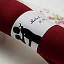 Personalized Paper Napkin Ring - Sweet Hug (Set of 50)