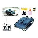 Tenk YX 1:16 RC Car Siva Ready-To-Go Tenk / Daljinski upravljač/Odašiljač / Punjač za baterije / Baterija za auto / Upute za korištenje