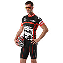 MYSENLAN Men's Cycling Tops / Jerseys Short Sleeve Bike Spring / Summer Breathable / Quick Dry / Front Zipper / Wearable BlackM / L / XL