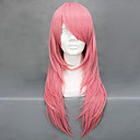Cosplay Wigs Reborn! Bianchi Pink Medium Anime Cosplay Wigs 65 CM Heat Resistant Fiber Female