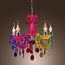 40 Lusteri ,  Traditional/Classic Chrome svojstvo for Crystal Acrylic Living Room Bedroom Dining Room