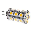 3W G4 LEDコーン型電球 T 24 SMD 5050 290 lm 温白色 DC 12 V
