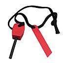 Přežití Hořčík Stick s nylonové lano a Iron Ignition (Random Color)