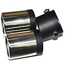 自動車排気管のための普遍的なステンレス鋼のマフラー(63ミリメートル、内径)LMC-M-041