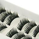 10 Parovi crna Handmade Fiber trepavica umjetne trepavice