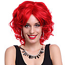 Capless High Quality Synthetic Short Curly Hair Wigs-5 Colors