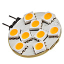 G4 1.5W 9x5050SMD 90-120LM 2800-3200K Warm White Light LED Spot žarulja (12V)